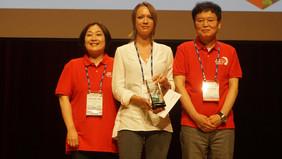 Der Raman Award ist eine Auszeichnung für die Leistungen der Nachwuchswissenschaftlerin, die auf dem Gebiet der spitzenverstärkten Raman-Spektroskopie forscht.Foto: ICORS